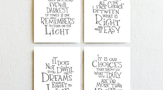 harry potter kunst print albus dumbledore zitate von simpleserene the muggle struggle. Black Bedroom Furniture Sets. Home Design Ideas