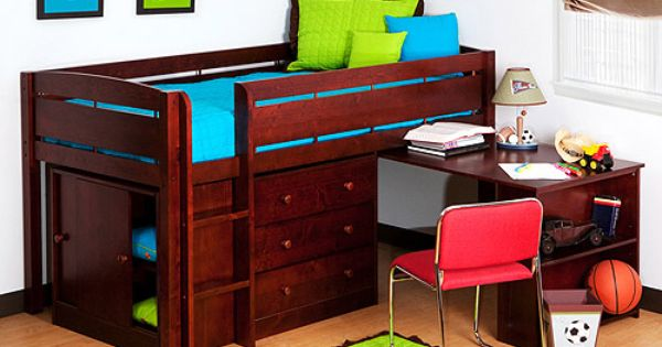 Canwood Whistler Junior Loft Bed Collection - Bunk Beds & Loft Beds