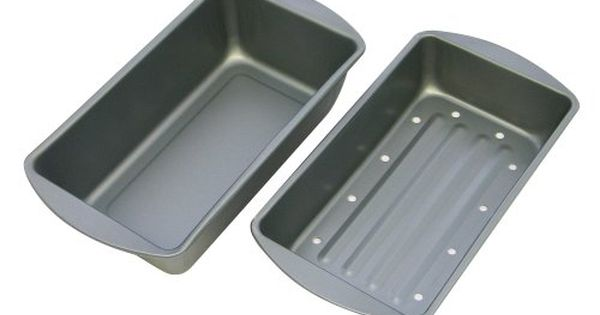 Ovenstuff Nonstick Meatloaf Pan With Fataway Insert 925 X 525 X 2 Details Can Be Found By Clicking On The Affiliate Lin Meatloaf Pan Glass Bakeware Meatloaf