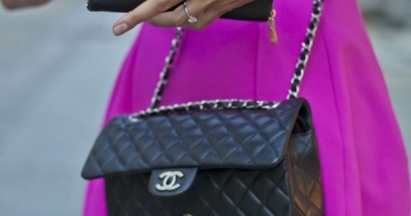 Miu Miu purse and Chanel bag and love the dress