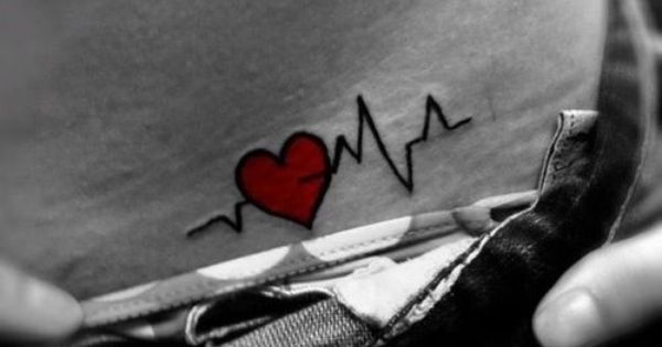 Would be awesome to get Raygens heart beat as a tattoo