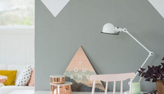 Paredes 39 39 half painted 39 39 decora tu alma blog de - Trucos para empapelar paredes ...
