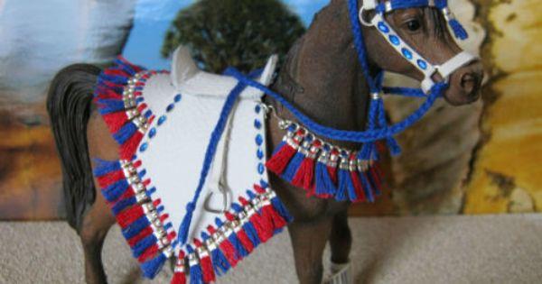 Araber Show Set Sattel Trense Leder Fur Schleich Pferde Zubehor Schleich Pferde Zubehor Pferde Zubehor Schleich Pferde