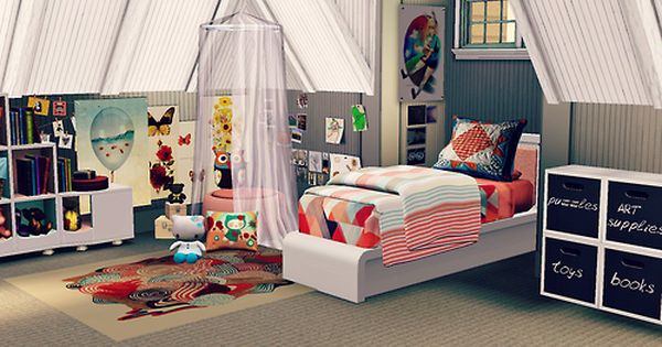 Sims 3 Character Design Ideas : Coastal living idea home kid s room the sims for