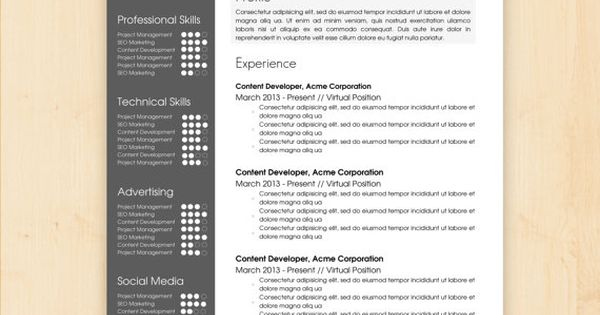 resume template    cv template - the sara reynolds resume design - instant download