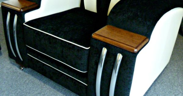 Deco Retro And Club Lounge Suite Made To Order Factory