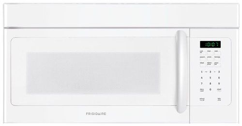 Frigidaire Ffmv162lw 1 6 Cu Ft White Over The Range Microwave