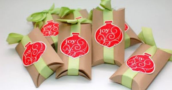 The Paper Art Studio: Toilet Paper Roll Gift boxes - OK that's