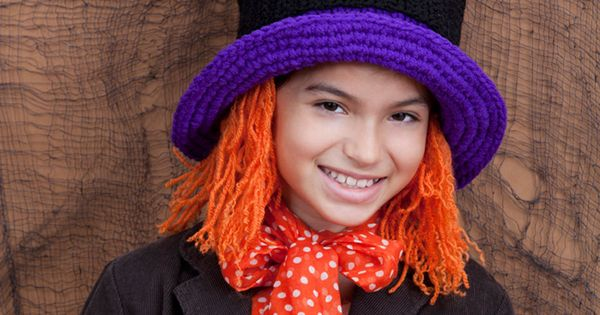 Crochet Hair Tangle Free : Mad Willy Hat {free crochet pattern, including instructions on how to ...