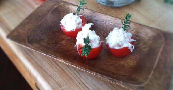 Cherry tomatoes, Crabs and Cherries on Pinterest