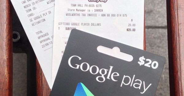 Google Australia Officially Announces Google Play Gift Cards On