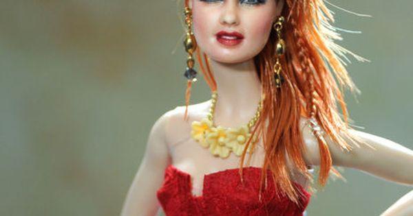 OOAK Mattel Cyndi Lauper Custom Doll Repaint by Noel Cruz | eBay