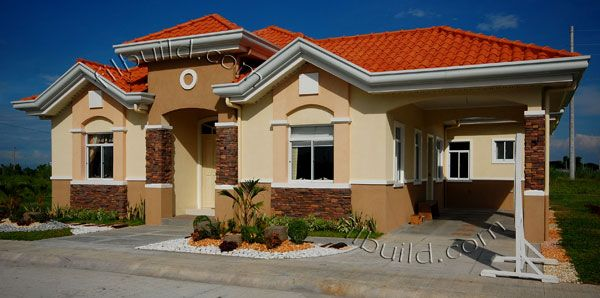 Filipino contractor architect bungalow house design real for Philippine model house design