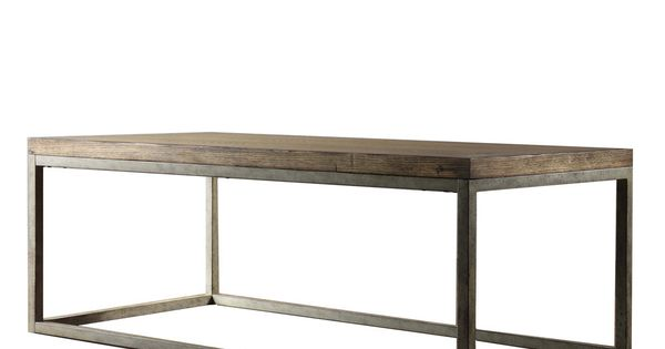 Somme Distressed Oak Cocktail Table Overstockcom