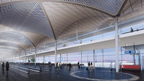 Www Katexandra Com Istanbul New Airport Architecture Istanbul Airport