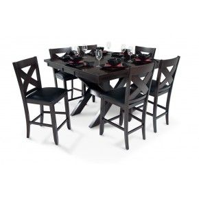 X Factor Pub 7 Piece Set Kitchen Table Settings Bobs Furniture