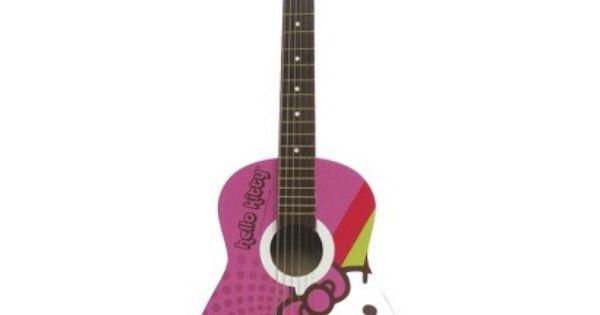Hello Kitty Acoustic Guitar Pink 88099 Hello Kitty Guitar Hello Kitty Appliances Hello Kitty