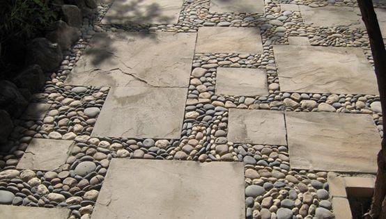 Metamosaics decoracion en piedra para patios exteriores for Piedras para patios exteriores