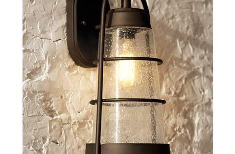 Franklin Iron Works 14 3 4 High Bronze Outdoor Wall Light 2m699 Lamps Plus Wall Lights Outdoor Wall Lighting Outdoor Wall Light Fixtures