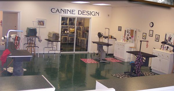 Canine design dog and cat grooming in sebastian florida for Grooming shop floor plans
