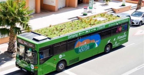 Jardines En Autobuses Marc Grañén Azoteas Verdes Techos Verdes Azoteas
