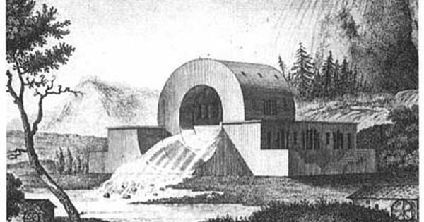 Claude Nicolas Ledoux 1736 1806 Was A Classicist Utopian Architect Who Was Pretty Much Of Architecture Drawing Historical Architecture Art And Architecture