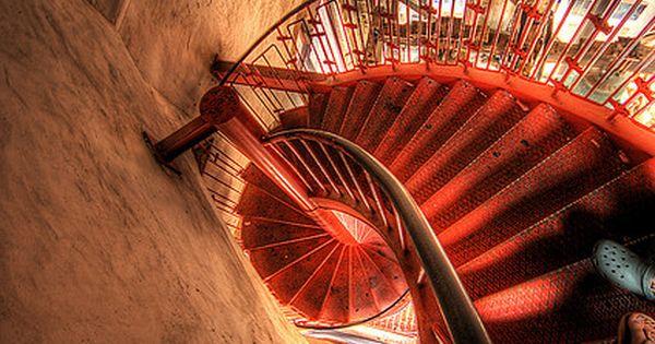 Downward Spiral, Belltower Zadar, CROATIA.