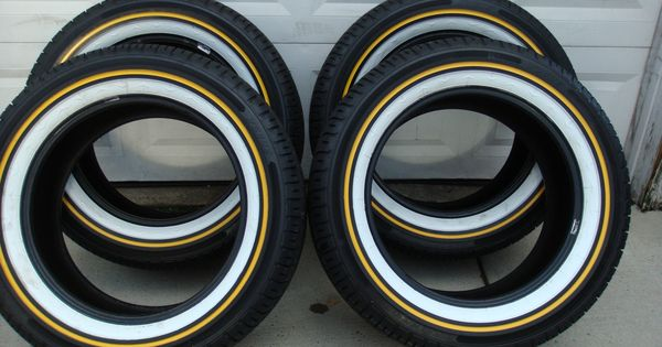 Mayonaise And Mustard! Vogue Tires (Tyres, White & Gold