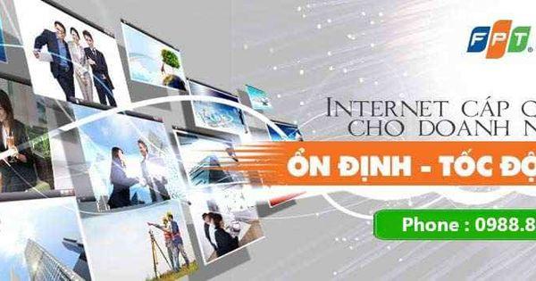 Ghim Của Fpt Hcm Tren Cap Quang Fpt Internet Nền Soc