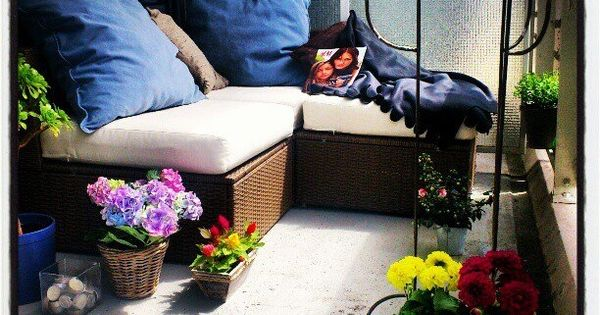Balcony daybed lounge