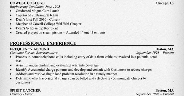 Entry Level Customer Service Resume (resumecompanion.com) #Student