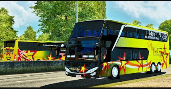 Adiputro Jetbus Double Decker Ets2 Gambar
