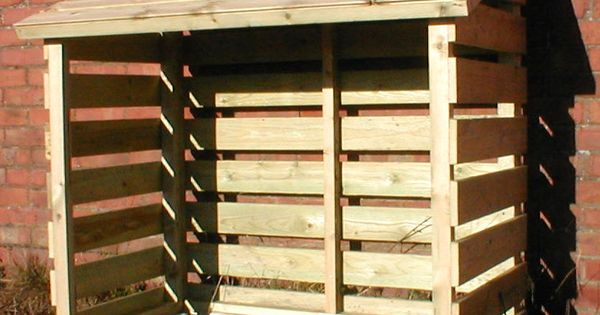 Log Store Small Garden Shed Pinterest Log Store