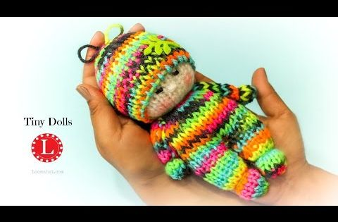 Knitting Patterns Little Dolls : Loom Knitting Patterns Dolls Project on Small Round Loom ...