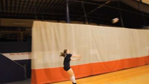 Volleyball Base To Release Defensive Drill Volleyball Serving Drills Volleyball Coaching Volleyball