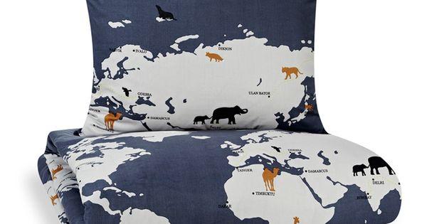 Animal Migration Duvet Cover by Lotta Mkinen