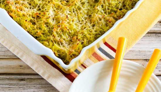 Twice-Baked Spaghetti Squash with Pesto and Parmesan | Casserole ...