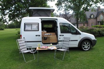 Ford Transit Connect Camper Conversion Expedition Portal Kampeerauto Kleine Campers Van Camping
