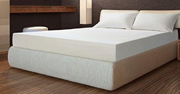 10 Inch Queen Size Cool Open Cell Memory Foam Mattress Medium Soft Made In The Usa Foam Mattress Bed Mattress Memory Foam Foam Mattress Bed