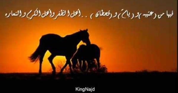 شيله ناصر العتيبي مدح عتيبه يام قحطان Places To Visit Horses Animals