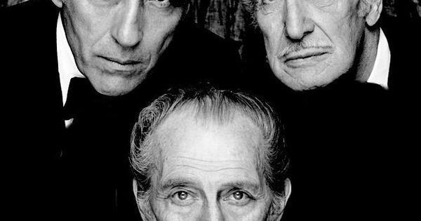 Christopher Lee, Peter Cushing, and Vincent Price: The trifecta of horror film