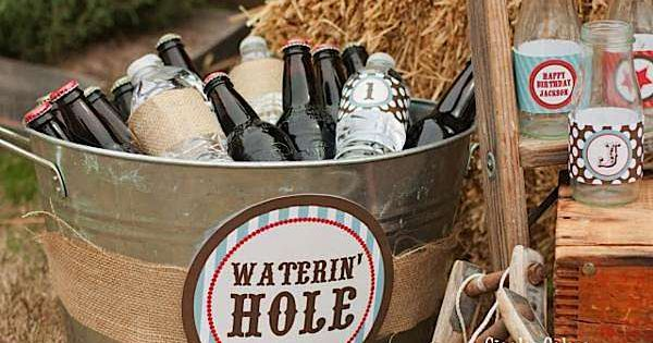 horse bake riding party ideas | items used in this party available