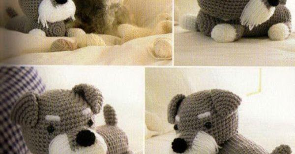 Amigurumi Dog Fur : Neryosp: Schnauzer Amigurumi - Free pattern Crochet ...