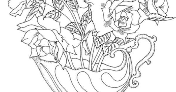 Supercoloring Rose Display