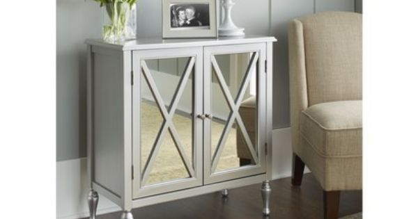 Hollywood Mirrored Accent Cabinet Accent Cabinet Accent Cabinet Living Room Mirrored Accent Table