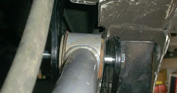 There Is A Little Too Much Play In The Pocket For The Upper Control Arms Control Arms Control Arm Jeep Xj