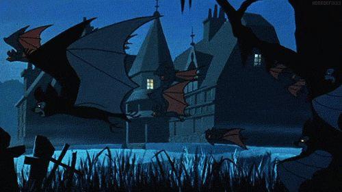 Scooby Doo bats intro gif #halloween | All Hallows' Eve ...