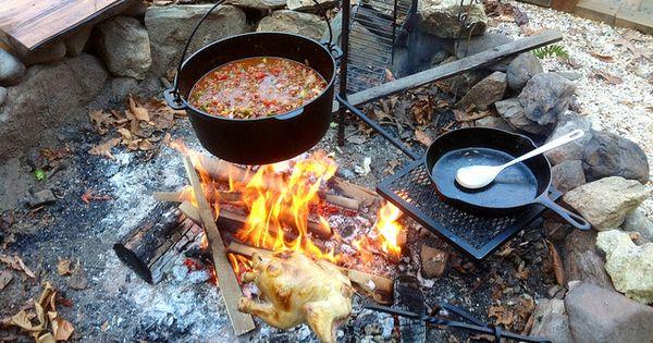 Campfire Chili In A Dutch Oven Mat Recept Och Inspiration