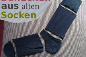 Bundchen Aus Alten Socken Upcycling Kleidung Selber Nahen