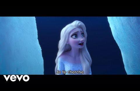 Charlotte Hervieux Prisca Demarez Je Te Cherche De La Reine Des Neiges 2 Youtube Disney Music Videos Disney Youtube Frozen Gif